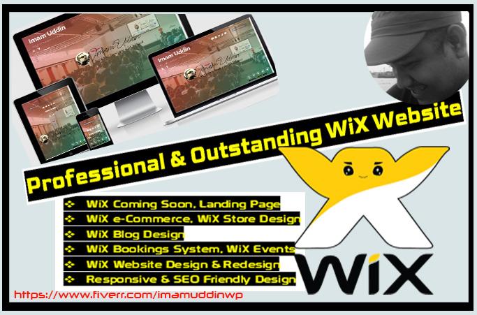 WiX Website Design and redesign